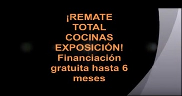 VIDEO LIQUIDACION COCINAS